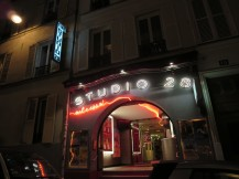 Paris: Cinema Studio 28 in Montmarte.