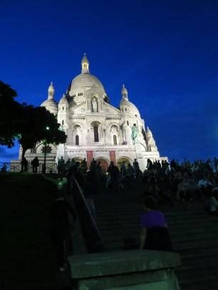 Paris: Sacré-Cœur Basilica in Montmarte.
