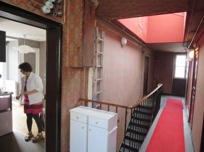 Paris: our flat.