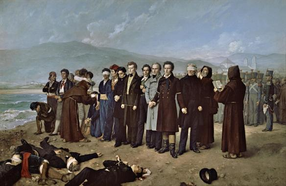 Execution of Torrijos