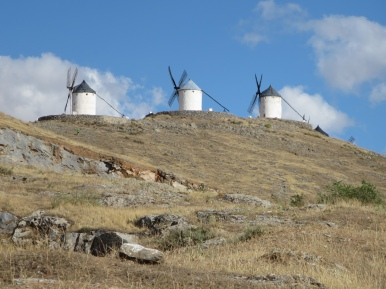 La Mancha: The Windmills of Consuegra.