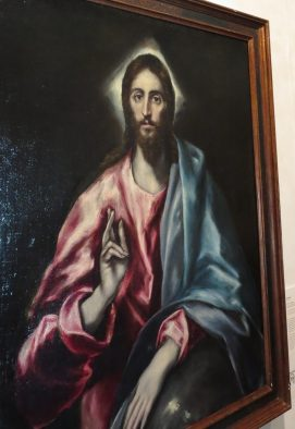 "Toledo, the El Greco Museum: El Greco, ""Christ as Savior."""