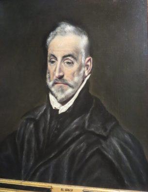 """Toledo, the El Greco Museum: El Greco, """"Portrait of Antonio de Covarrubias y Leiva."""""""