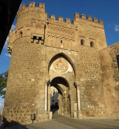 Toledo: Puerta del Sol, city gate.