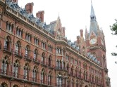 London: St Pancras Train Station.