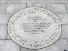 London: 9/11 Memorial in Grosvenor Square.