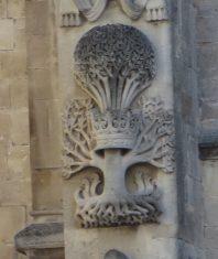 Bath: Cathedral Facade.