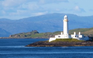 Lismore Lighthouse on Eilean Musdile.