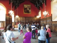 Edinburgh Castle: The Great Hall.