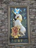 Holyrood Palace (a royal residence), Edinburgh.