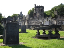 The Old Calton Burial Ground, Edinburgh.