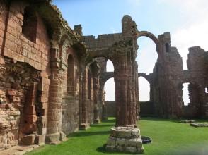 Lindisfarne: the Abbey.