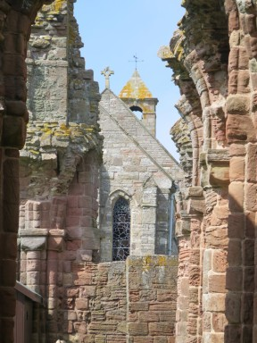 Lindisfarne: the Abbey.