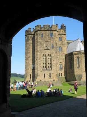 Alnwick Castle.