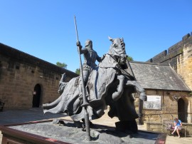 Alnwick Castle: Henry Hotspur.