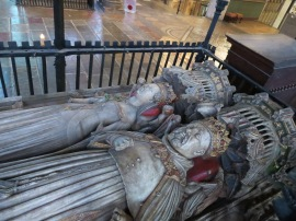 Canterbury Cathedral: Tomb of Henry IV & Joan of Navarre.
